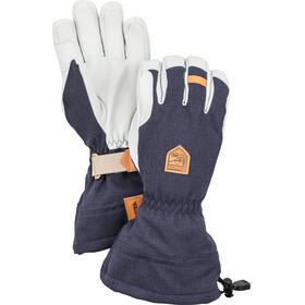 Hestra M's Army Leather Patrol Gauntlet Gloves Navy